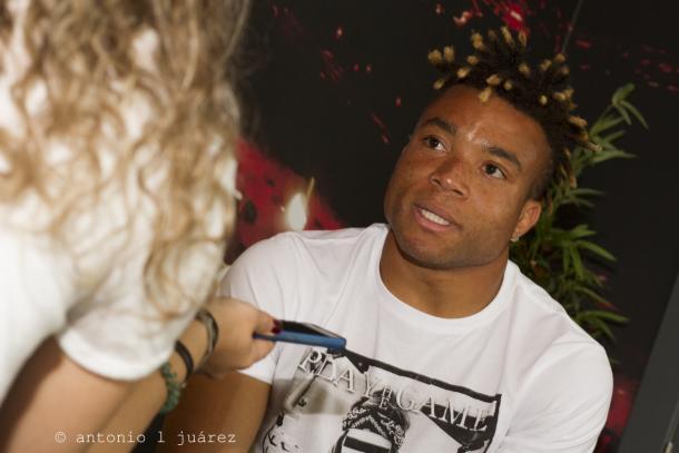 Pierre Kunde durante la entrevista en VAVEL | Foto: Antonio L. Juárez