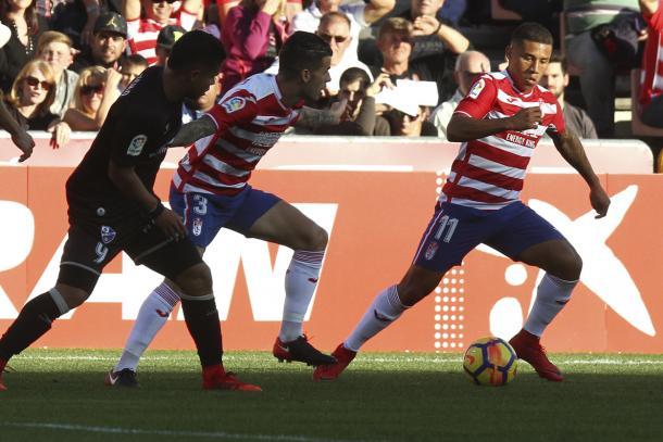 Machís marcó el 2-0 | Foto: Antonio L. Juárez
