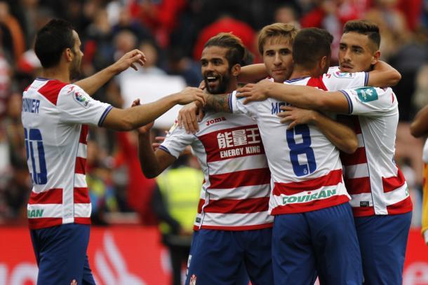 El Granada logró su primera victoria en Liga contra el Sevilla | Foto: AL Juárez