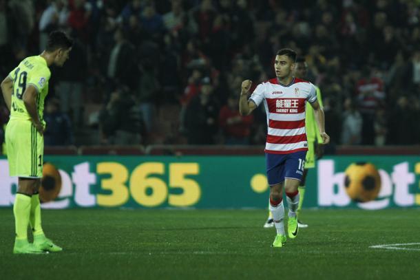 Pereira celebra su gol | Foto: AL Juárez