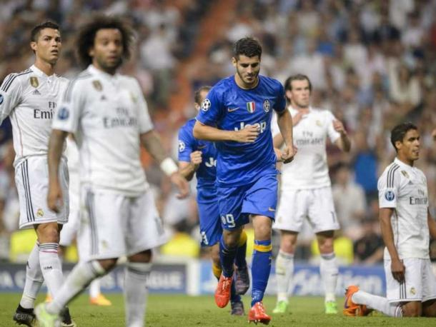 Morata refuses to celebrate after knocking his former club out of the Champions League. | Image source: sports.ndtv