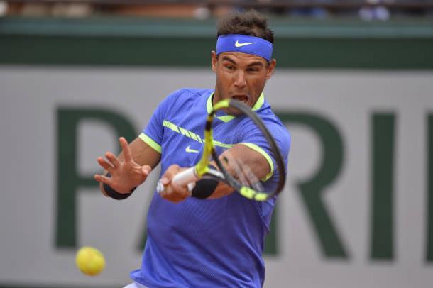 Rafael Nadal's forehand is one of biggest and best shots in Tennis (Getty/Aurelien Meunier)