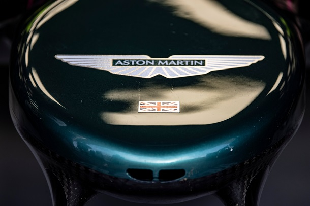 Nariz del AMR21. Fuente: Aston Martin