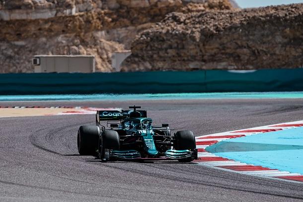 Lance Stroll en los test de pretemporada. Fuente: Aston Martin