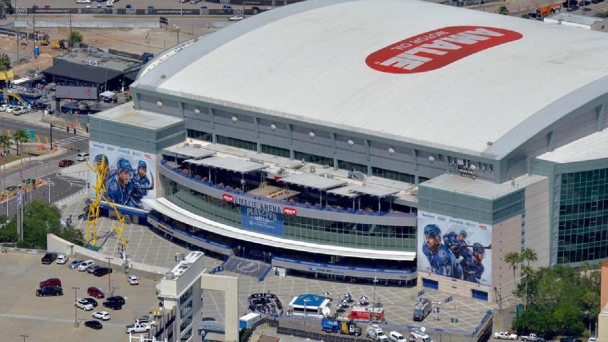 Amalie Arena   Foto: como-funciona.com