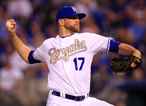 Wade Davis notched his first save of the night on Sunday (AP Photo/Orlin Wagner)