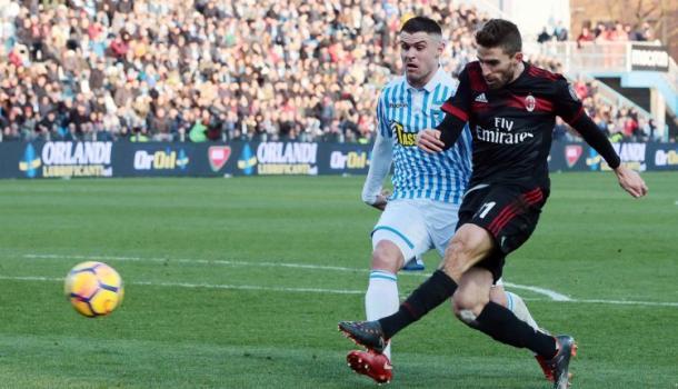 Borini anotaba el cuarto gol | Foto: AC Milan