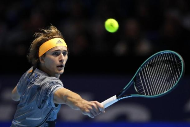 Zverev was in top form throughout his victory over Nadal/Photo: Kirsty Wigglesworth/Associated Press