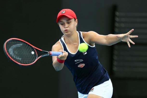 Barty is looking for her first win in singles after crashing out early in Brisbane/Photo: Associated Press