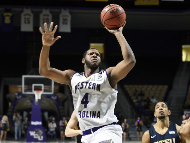 Dotson is averaging a double-double for the fourth-seeded Catamounts/Photo: Western Carolina athletics website