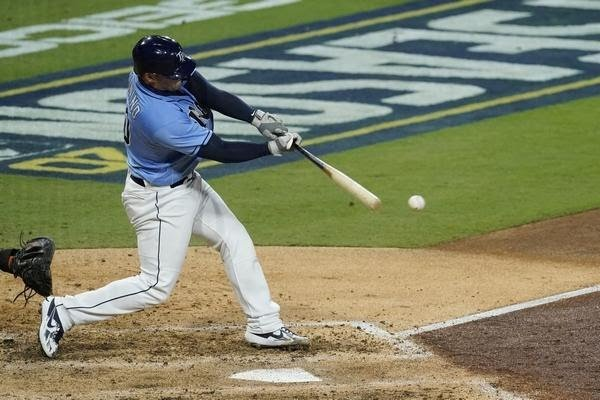Zunino's RBI single proved to be the difference in Game 1/Photo: Jae C. Hong/Associated Press