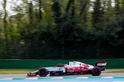 Kimi Raikkonen durante los FP1. Fuente: Alfa Romeo
