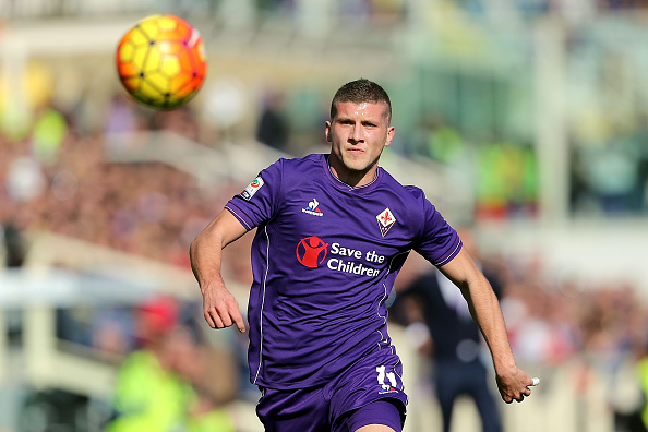 Rebic in action for Fiorentina. | Image credit: Gabriele Maltinti/Getty Images