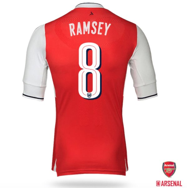 Arsenal posted this photo on their official Twitter account to announce the change. | Image source: Arsenal FC