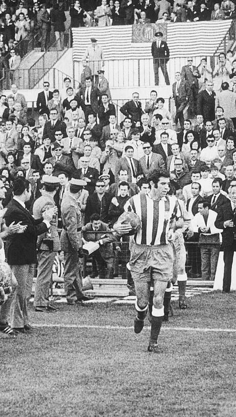 Luis Aragonés, ex jugador y ex entrenador del Atlético de Madrid / Fuente: Atlético de Madrid