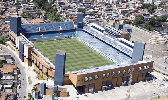 A moderna Arena Barueri será a casa do Oeste na Série B Foto: Prefeitura de Barueri