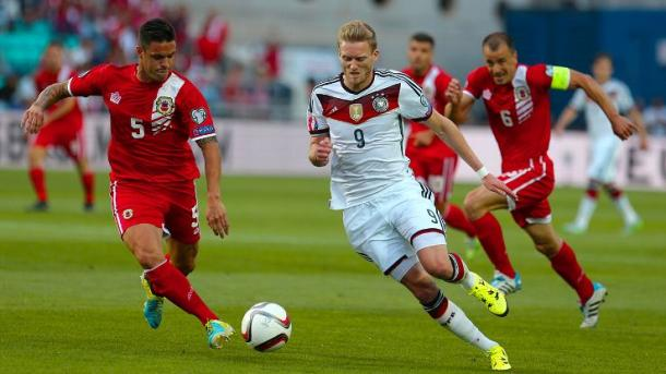 Germany went to town on Gibraltar. | Image source: ESPN FC