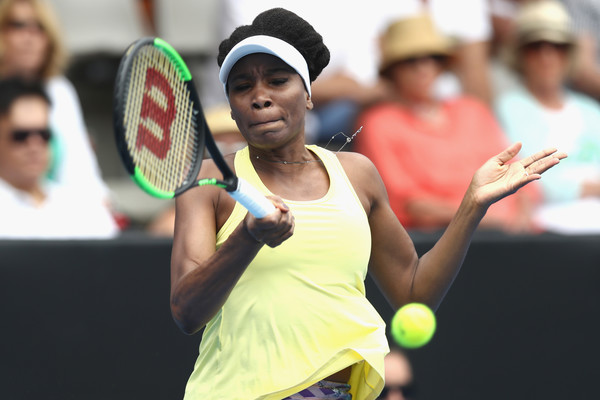 Venus Williams in her match today | Photo: Phil Walter/Getty Images AsiaPac