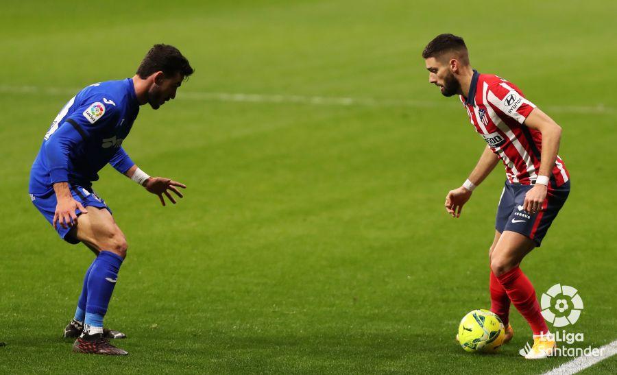 Atlético vs Getafe, partido de ida // Fuente: LaLiga