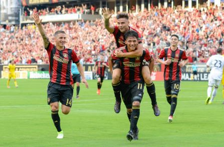 Two of Atlanta United FC's most dangerous players | Source: Rich von Biberstein - Icon Sportswire via Getty Image