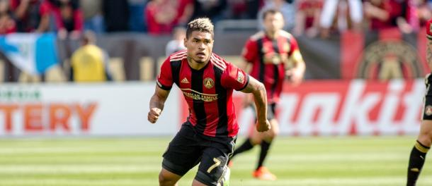 Josef Martínez is looking to add even more goals to his five so far this season | Source: atlutd.com