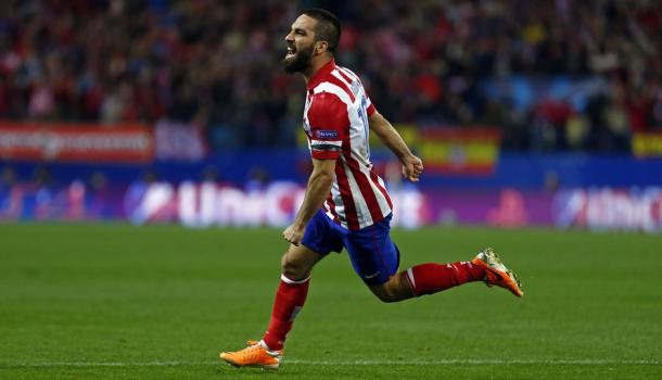 Turan enjoyed his best years while with Atlético Madrid. | Image source: Atlético Madrid