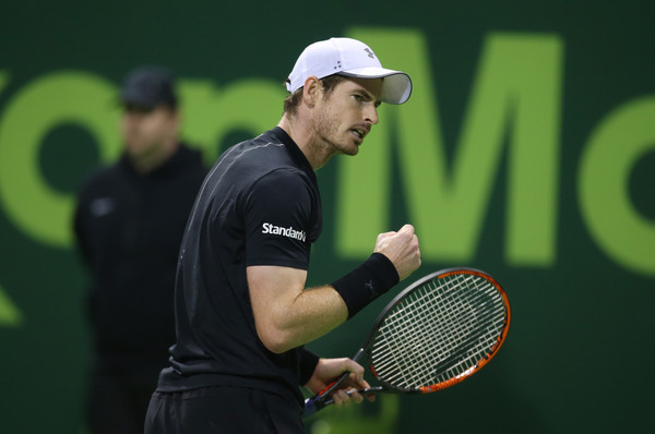 Murray made an incredible second set comeback (Photo by AK BijuRaj/Getty Images)