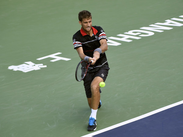 Klizan at the Shanghai Rolex Masters (Photo by Kevin Lee/Getty Images)