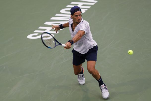 Lopez at the Shanghai Rolex Masters (Photo by Lintao Zhang/Getty Images)