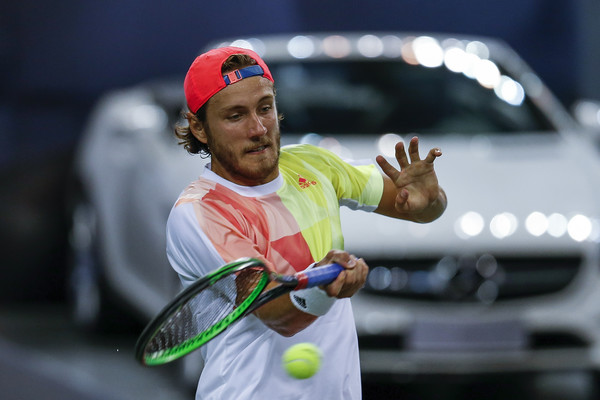 Pouille at the Shanghai Rolex Masters (Photo by Lintao Zhang/Getty Images)