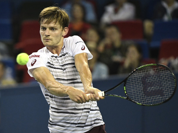 Goffin at the Shanghai Rolex Masters (Photo by Kevin Lee/Getty Images)