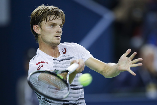 Goffin at the Shanghai Rolex Masters (Photo by Lintao Zhang/Getty Images)