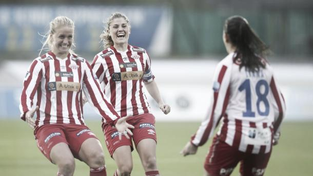 Avaldsnes stays ahead in the Toppserien | Source: nrk.no
