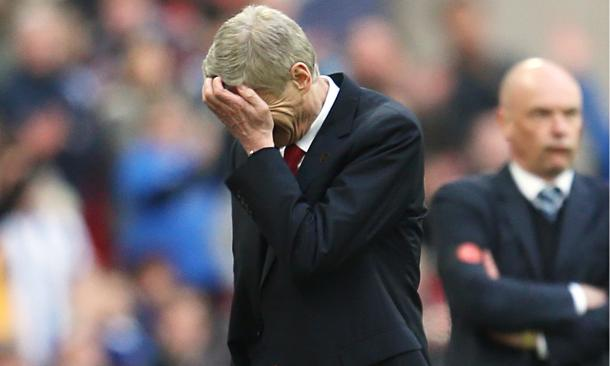 Another frustrating season for Wenger. | Image source: The Guardian