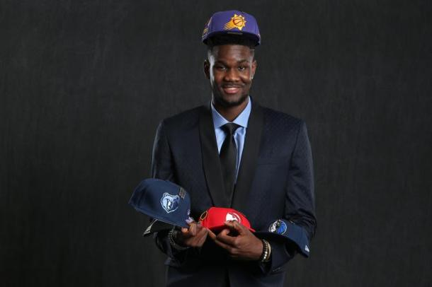 It is almost certain that Deandre Ayton goes No. 1 but anything can happen. Photo: David Sherman/Getty Images