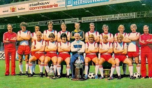 equipo de AZ Alkmaar campeón en 1930 | Foto: blog Equipos de Futbol