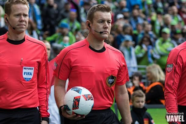 Alan Kelly will be the center referee for the New York City FC and D.C. United game on Sunday | Source: Brandon Farris - VAVEL USA