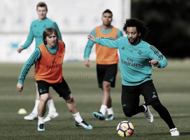 Último treino do Real Madrid antes do jogo | Foto: Divulgação/Real Madrid CF