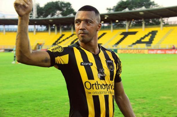 Tiago Amaral tem contrato com o clube até o fim de 2017   Foto: Divulgação/Volta Redonda F.C.
