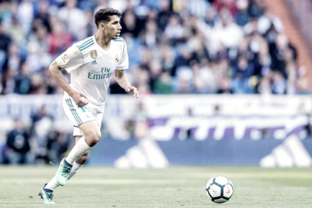 Achraf Hakimi em partida entre Real Madrid e Leganés pela La Liga (Fonte: Getty Images)