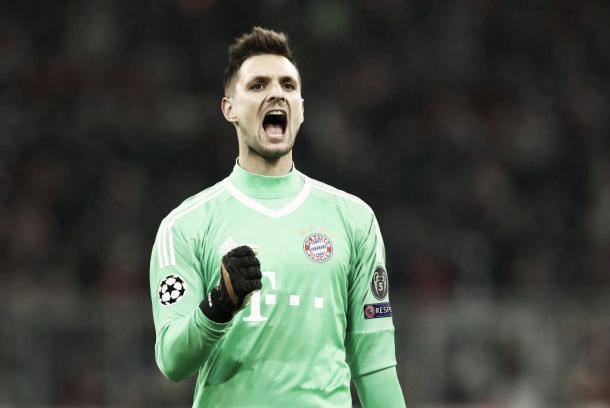 Sven Ulreich   Foto: Twitter oficial Bayern Múnich (@FCBayernES)
