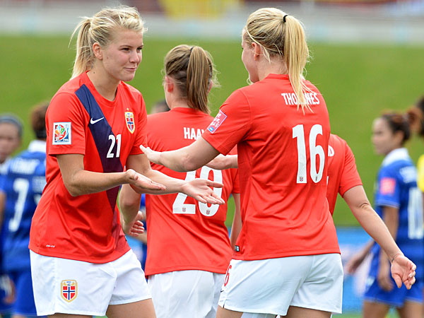 Can Hegerberg help her nation to Brazil? | Image source: Philly.com