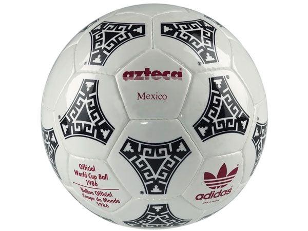Adidas Azteca, balón oficial de México 1986   Foto: FIFA