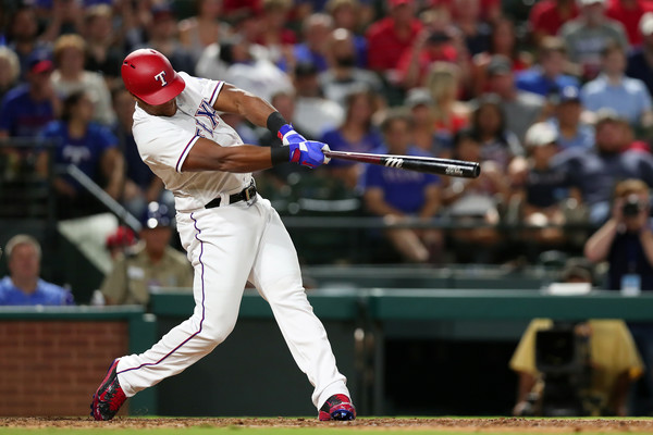 Adrian Beltre #29 of the Texas Rangers |Sept. 12, 2017 - Source: Tom Pennington/Getty Images North America|