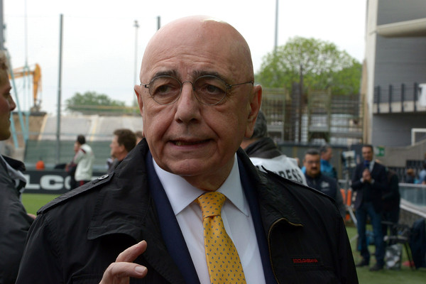 Galliani. Fonte foto: Getty Images Europe.