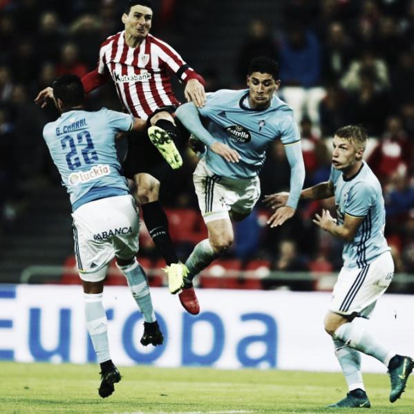Parar a Aduriz es toda una hazaña. | Foto: Athletic