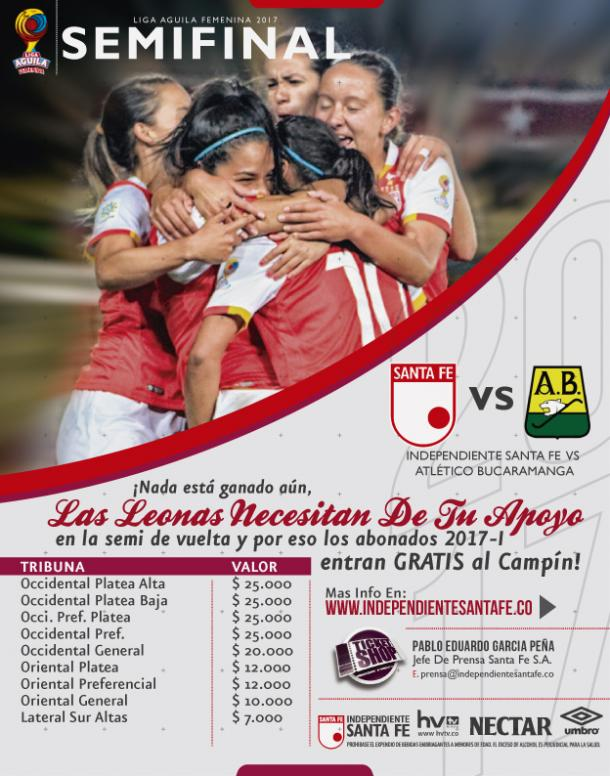 Atlético Huila, finalista de la Liga femenina