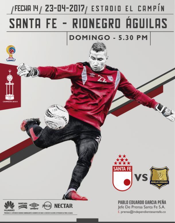 Fuente: Independiente Santa Fe