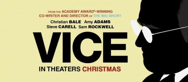 Afiche película Vice. Fotografía de Teaser Trailer