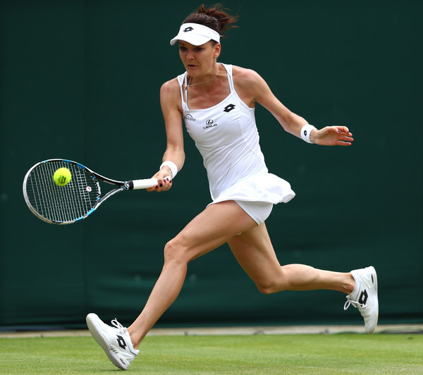 Agnieszka Radwanska is defending fourth-round points from last year | Photo: Julian Finney/Getty Images Europe
